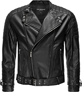Sponsored Ad - Areena Design - Men's Long Sleeve Genuine Leather Jacket