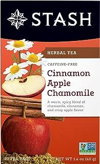 Stash Tea Cinnamon Apple Chamomile Herbal Tea, 20 Count