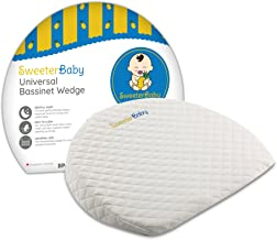 Bassinet Wedge, Baby Pillow for Reflux and Congestion Relief, Baby Wedge