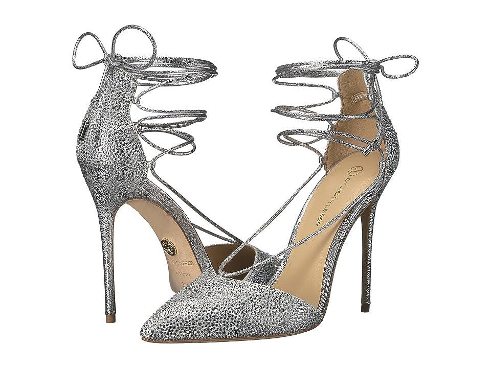 JL by Judith Leiber Cleopatra (Silver) High Heels