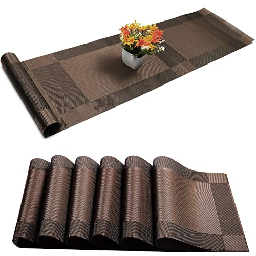 Dining Table Runner And Placemat Amazon Com