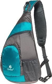 Sling Bag Shoulder Backpack Multipurpose Crossbody Pack for Men Women