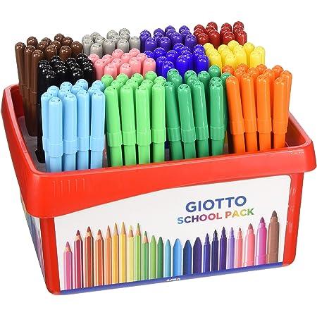 Giotto Turbo Color Schoolpack 144 Pezzi