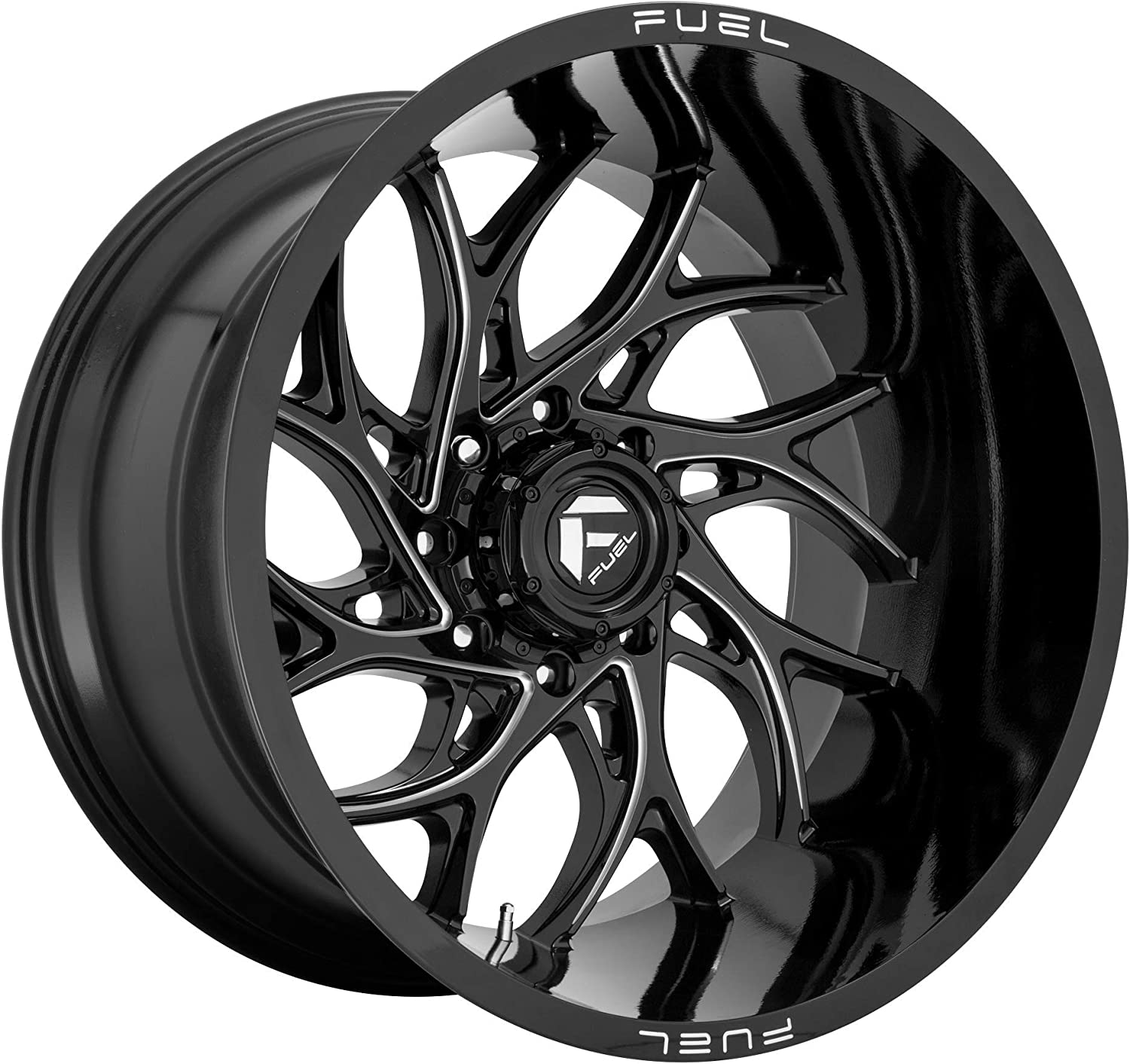 Fuel Offroad 55% OFF Runner 20x9 6x139.70 Shipping included Milled Black 1mm Gloss