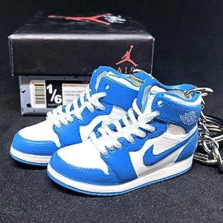 8322e80c204c5 Amazon.com: Air Jordan 1 Retro Shoe - Air Jordan 1 (White/blue/red ...