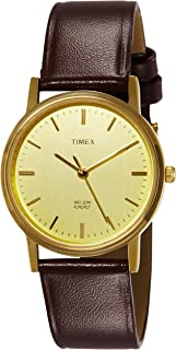 Timex Classics Analog Gold Dial Men's Watch - A301
