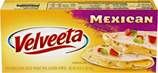 Velveeta Mexican Cheese Block, 16 oz Block
