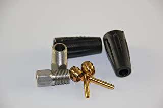 KINGSTOP JIM Bicycle Hydraulic Hose Fitting kit Hose Insert kit for Shimano BH59 Hose 315 355 365 395 396 445 446 447 for Shimano Hose