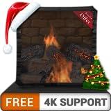 無料のたき火暖炉パックHD-調停と平和のための壁紙とテーマとして、HDR 4K TV、8K TV、および火のデバイスで冬の涼しいクリスマス休暇をお楽しみください