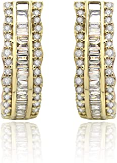 Goldenstar 0.68Ct Multi Color Diamond Ring 925 Sterling Silver