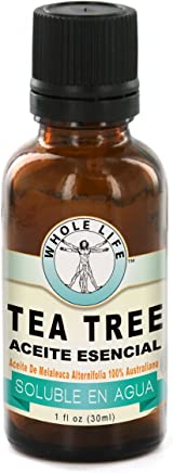 Aceite de Arbol de Te - Whole Life Pure Tea Tree Oil, Melaleuca Alternifolia 100