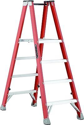 Louisville Ladder FMP1504 Fiberglass Ladder, 4', Orange