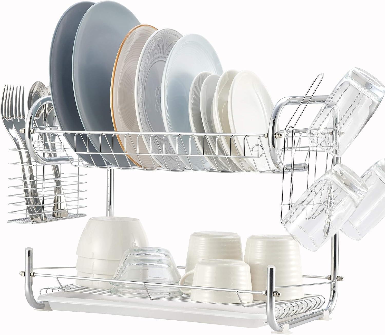 Dish Drying Rack Oklahoma City Mall Dallas Mall 2 Tier Drainboard NATU with Kitchen