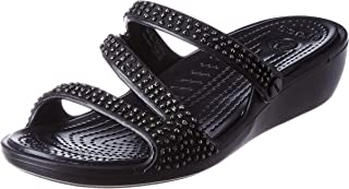 Crocs Women's Patricia Diamante Sandal Slide