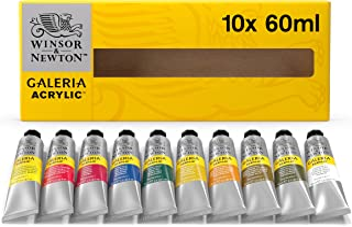 Galeria Acrylic - Set 10 Tubi 60 ml
