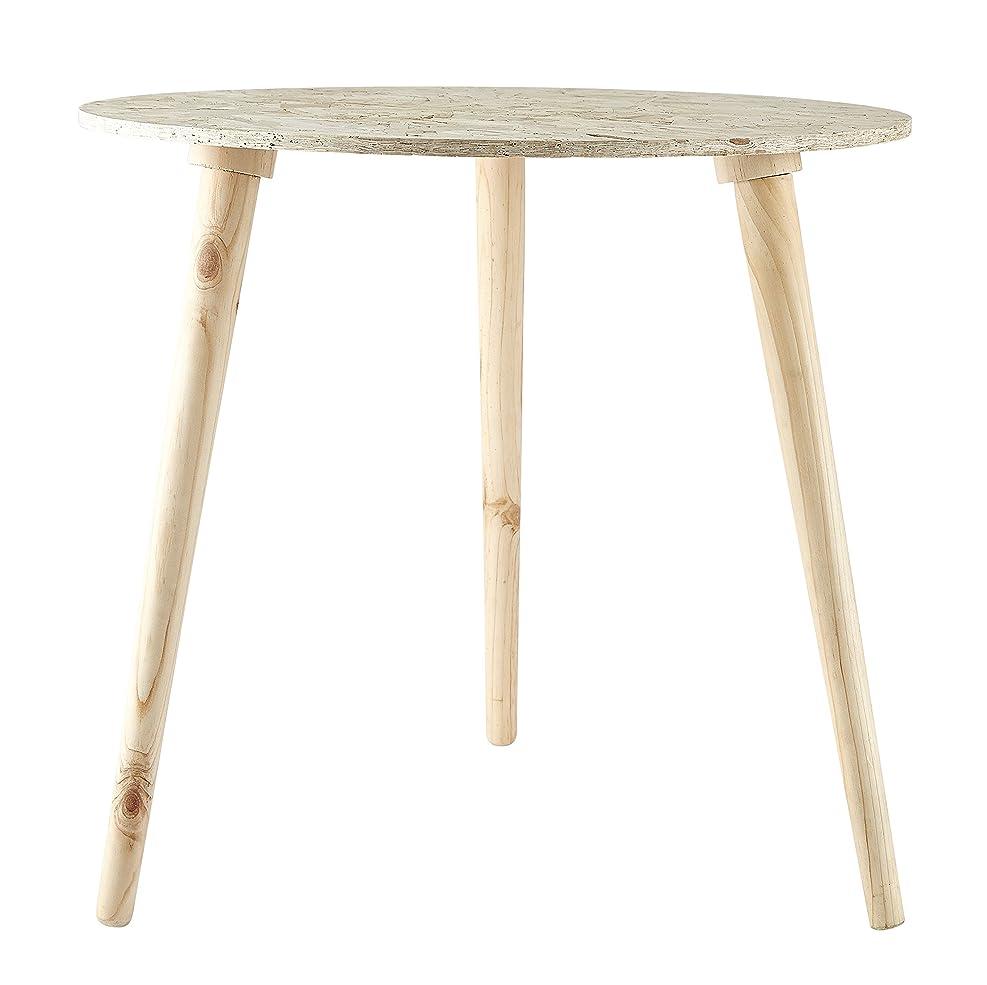 仲介者金曜日風景ヴィラコレクション サイドテーブル D50,0cm-H 47,0cm テーブル ナチュラル L 471172