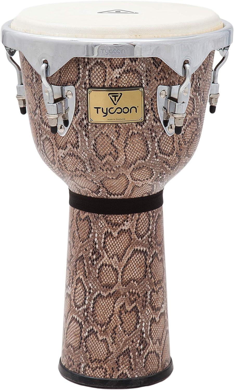 Tycoon Percussion Djembe, Boa, inch (MTJF-712 BCF)