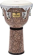 Tycoon Percussion MTJF-712 BCF 12-Inch Master Series Djembe, Boa Finish