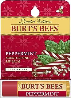 Burt's Bees Peppermint Lip Balm Blister for Unisex, 0.15 Ounce