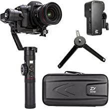 Zhiyun Crane 2 2017 Newest ver(with Follow Focus) 3 axis Handheld Gimbal Follow Focus 3.2kg Payload OLED Display for Canon 5D2, 5D3, 5D4, GH3, GH4, Nikon Sony DSLR Camera
