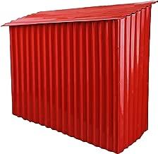NACH mb-6944 Farm Shed Mailbox, Red