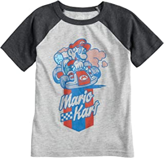 ef5b20886 Jumping Beans Boys 4-10 Nintendo Mario Bros. Mario Kart Graphic Tee