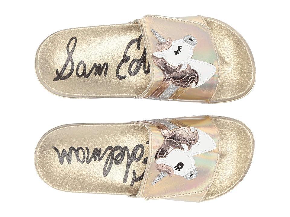 Sam Edelman Kids Mackie Magic (Little Kid/Big Kid) (Gold Holographic) Girls Shoes