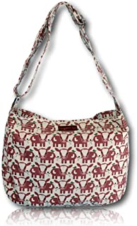 Bungalow 360 large Messenger Bag (cow)