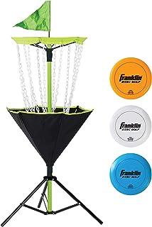 Franklin Sports Disc Golf Set – Portable Disc Golf – Disc Golf Basket
