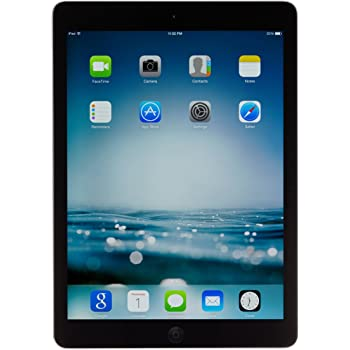 Apple iPad Air MD786LL/A 9.7-Inch 32 GB Touchscreen Tablet (Black/Space Gray) (Renewed)