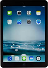 Apple iPad Air MF004LL/A (32GB, Wi-Fi + Verizon, Black with Space Gray) OLD VERSION (Renewed)