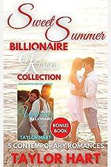 Sweet Summer Billionaire Kisses: 5 Contemporary Romances Kindle Edition