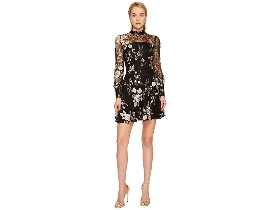 ZAC Zac Posen Zarina Dress (Black Multi) Women