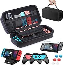 HEYSTOP Custodia per Nintendo Switch 11 in 1 Custodia per Switch Nintendo 2 Joy-con Grip per Switch Nintendo PlayStand Reg...