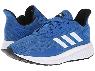 adidas Kids Duramo 9 (Little Kid/Big Kid) (Blue/White) Boy