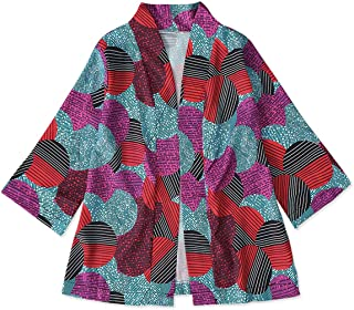 YOUNGER STAR Toddler Baby Girls Fashion African Print Kimono Jacket Cardigan Long Sleeve Clothes 6M-4T