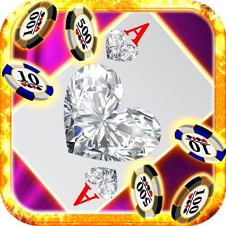 Diamond Jewels Blackjack Heart Jewel Hot Free Blackjack 21 Games fro Kindle Fire HD Free Games Casino Cards Games for Kindle Blackjack Trainer Stars Vegas Card Tricks