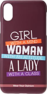 Macmerise IPCIXSPWY0718 Girl Woman Lady - Pro Case for iPhone XS - Multicolor (Pack of1)