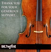 A Special Thank You Gift Prepared for WFMT Fine Arts Circle Supporters, Selected by Henry Fogel (22-CD set): Compilation of