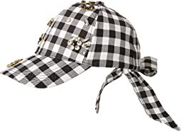 Betsey Johnson - Checkered Past Baseball Hat