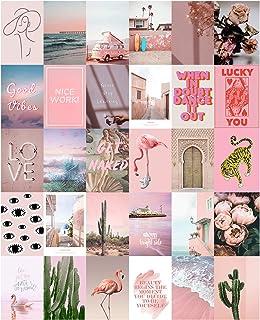 Amazon Com Pink Wall Art Home Kitchen