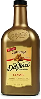 DaVinci Gourmet Sauce, Caramel, 64 Ounce Bottle