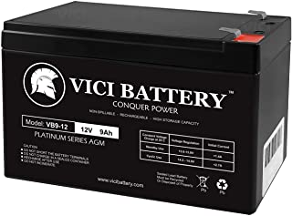 VICI Battery 12V 9Ah UPS Battery Replacement for APC BE550G Brand Product