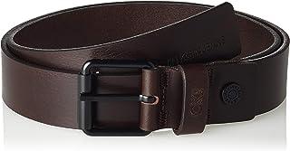 حزام جلد اي دي جي للرجال من كالفن كلاين مقاس J 3.5 سم