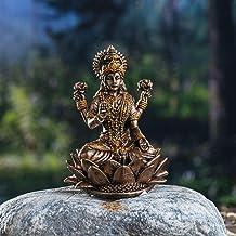 Pacific Giftware Hindu God Lakshmi Miniature Resin Figurine Statue