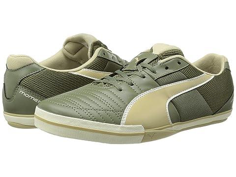 Mens Shoes PUMA Momentta Vulc Sala II Burnt Olive/Pale Khaki/Whisper White