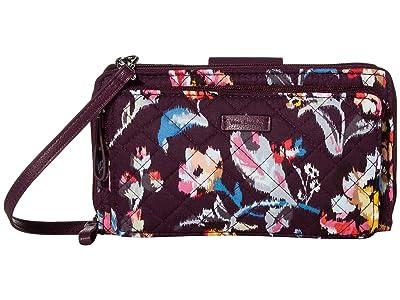 Vera Bradley Iconic Deluxe All Together Crossbody (Indiana Rose) Cross Body Handbags