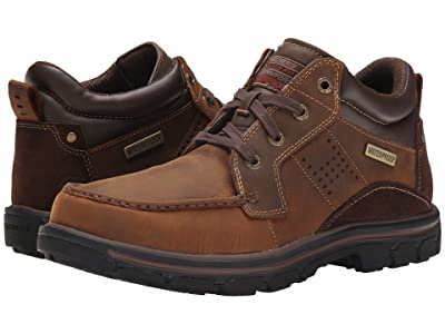 SKECHERS Relaxed Fit Segment Melego (Dark Brown) Men