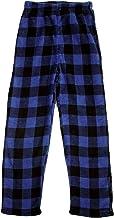 Prince of Sleep Plush Buffalo Plaid Pajama Pants for Boys