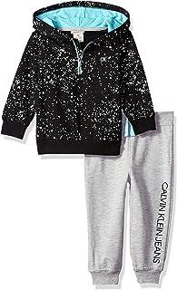 Calvin Klein Conjunto de pantalón con Capucha para niños